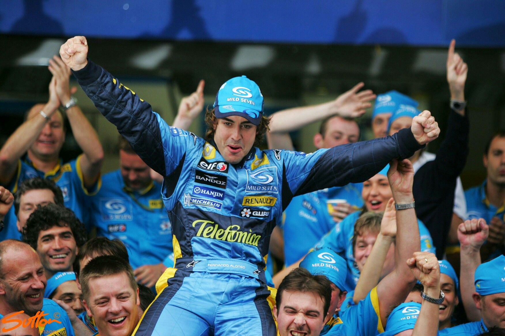 25th September 2005 Fernando Alonso took his first F1 World Championship for Renault