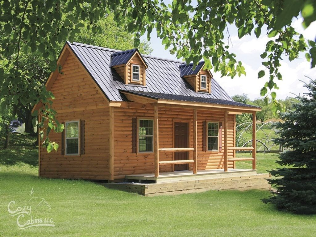 Tiny Log Cabins Are An Upcoming Trend And Are Perfect For Doubling As A  Hunting Cabin Or Even A Residential Log Cabin! Cozy Cabins Manufactures In  PA.