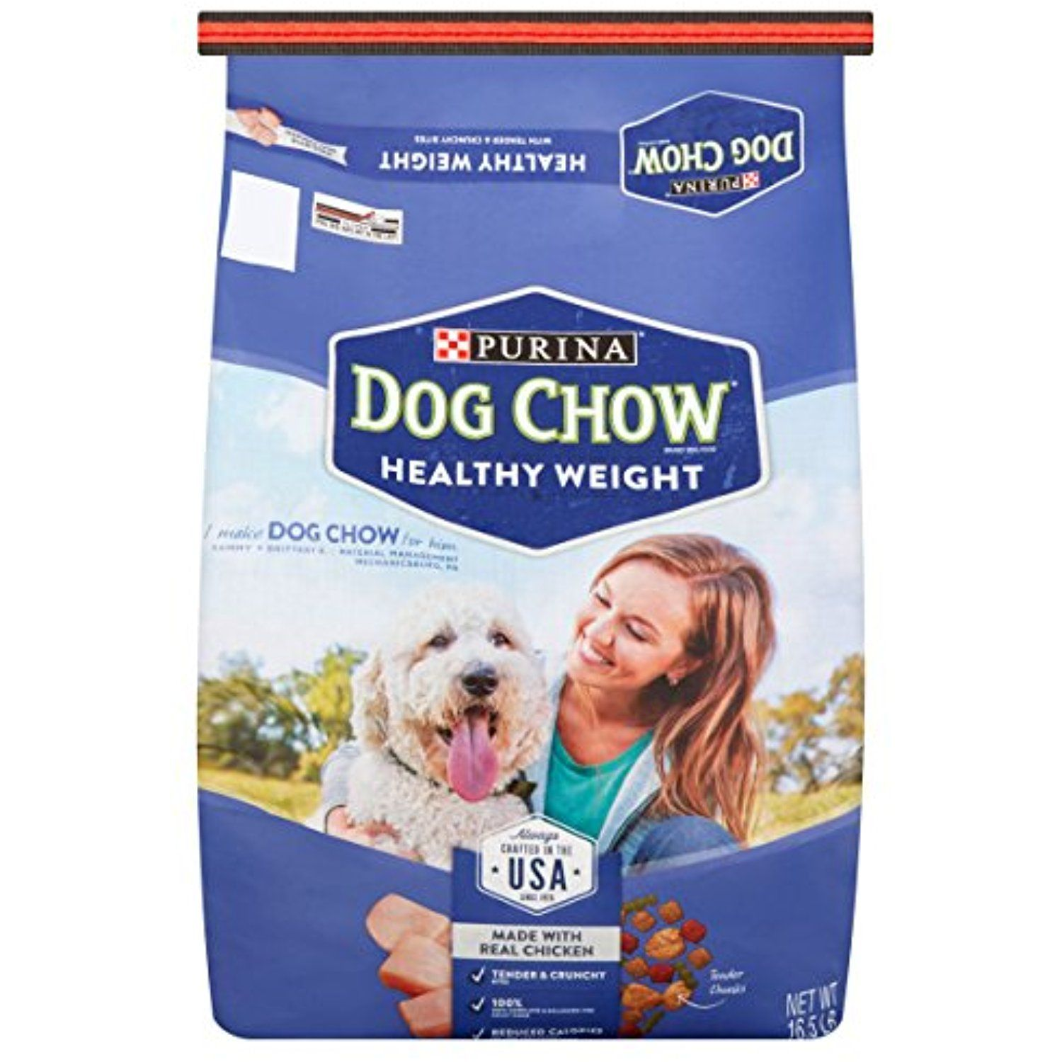 Purina Dog Chow Light In Calories Big On Taste Healthy Weight Dog