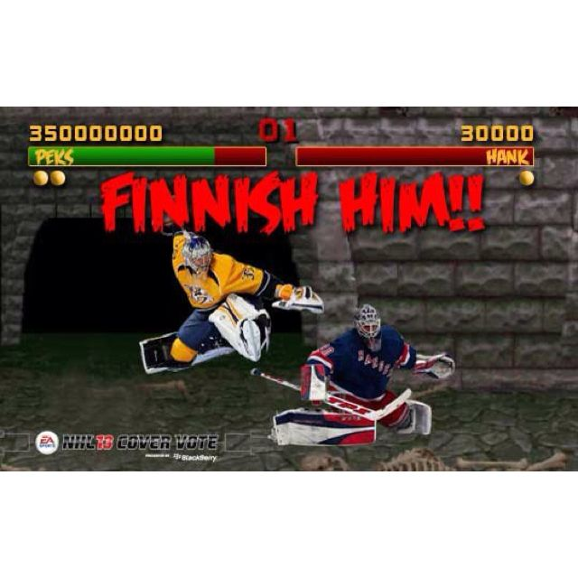 Pekka the Finnish goalie