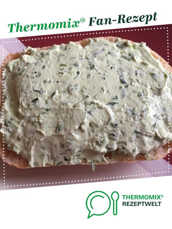 Bärlauch-Quark-Frischkäse Brotaufstrich