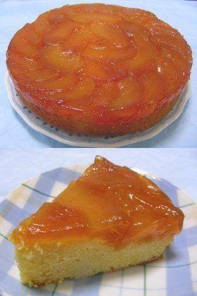 カラメルりんごのアップサイドダウンケーキ By Nin レシピ スイーツ レシピ フードケーキ レシピ