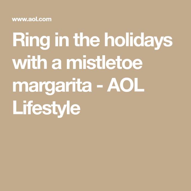 Cocktail of the Week: Mistletoe Margarita