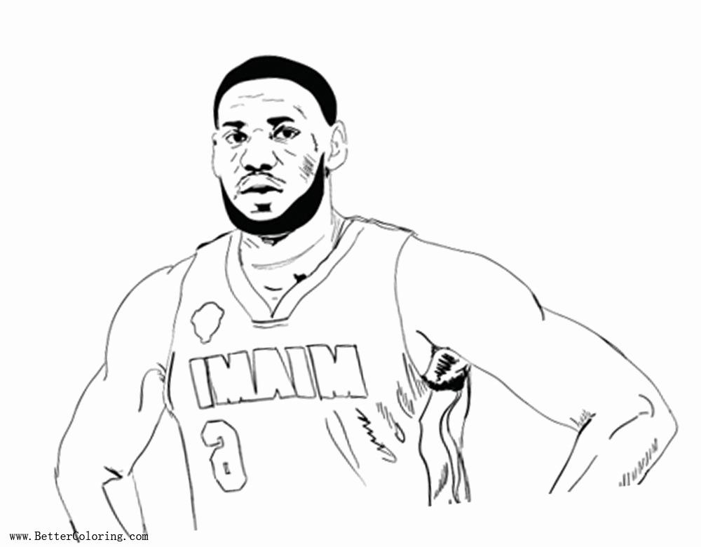 Lebron James Coloring Page Awesome Lebron James Coloring Pages Rough Draft Outline By Timothy Free Printable C Coloring Pages Shark Coloring Pages Lebron James