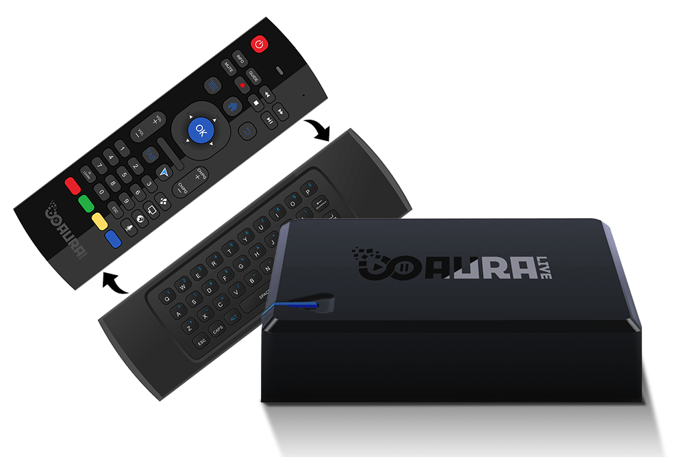 Aura Live an Android TV box with a built in TV tuner, pre