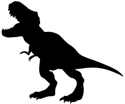 40+ Tyrannosaurus rex clipart black and white info