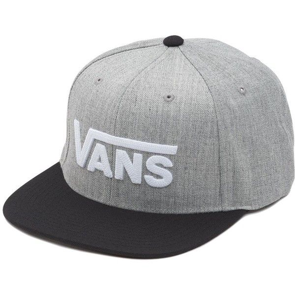 41218960c83 Vans Drop V Snapback Hat (75.910 COP) ❤ liked on Polyvore featuring ...