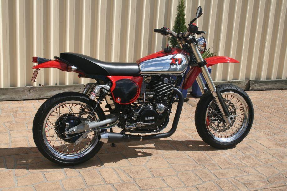 Yamaha xt motard motorcycles rare and noteworthy for Yamaha xt500 motorcycle