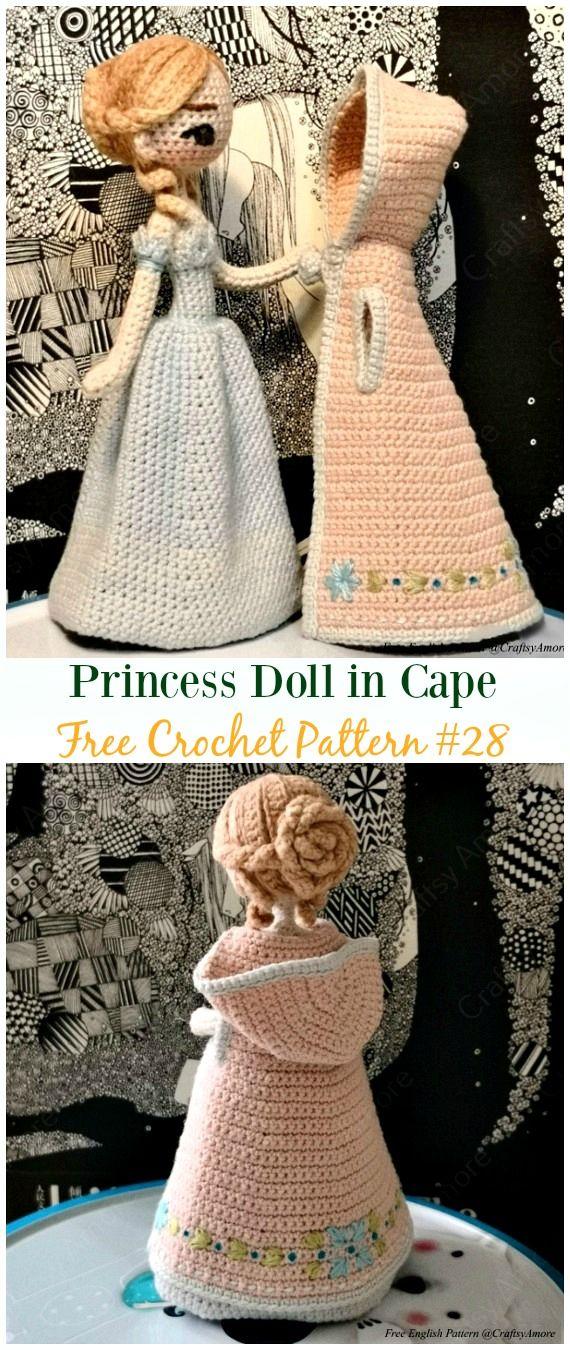 Crochet Doll Toys Free Patterns #crochetdolls