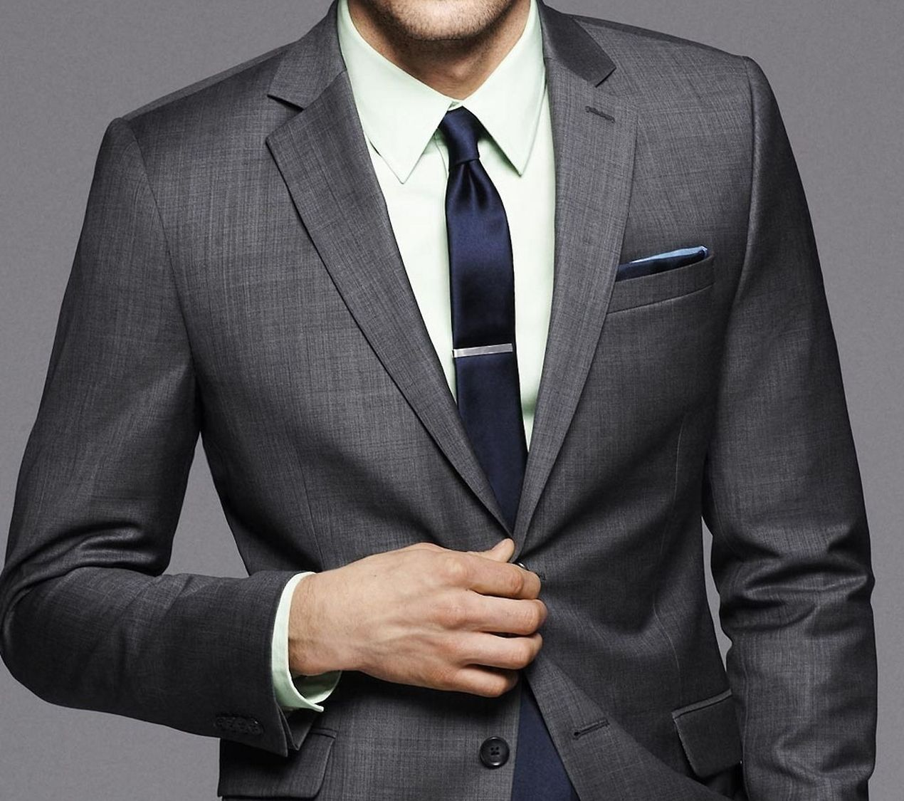 A dark grey suit | gentleman style | Pinterest | Suits, Colour and ...