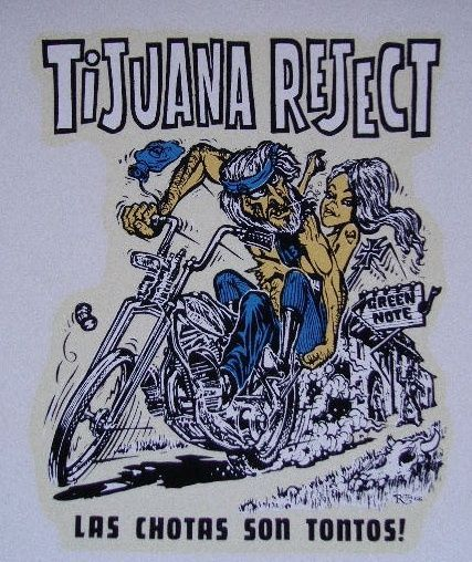 Vintage Ed Roth Decal Chopper Bobber Frisco Biker Tijuana