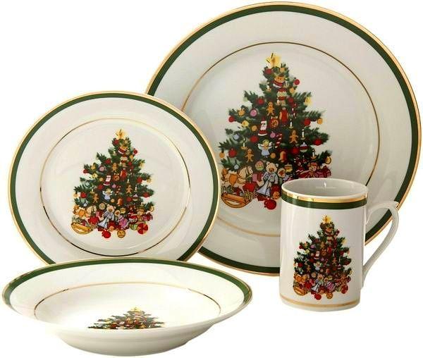Spode Christmas dinnerware. | X\'mas Luxury ❄η The Table | Pinterest ...