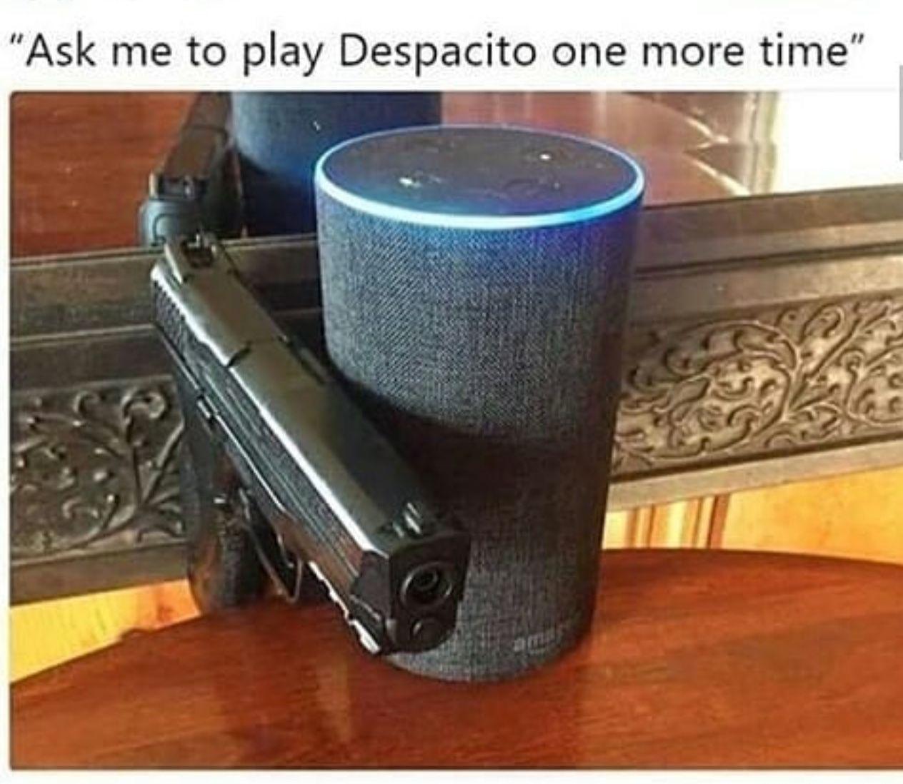 Alexa play despacito   Lol, Memes, Funny pictures