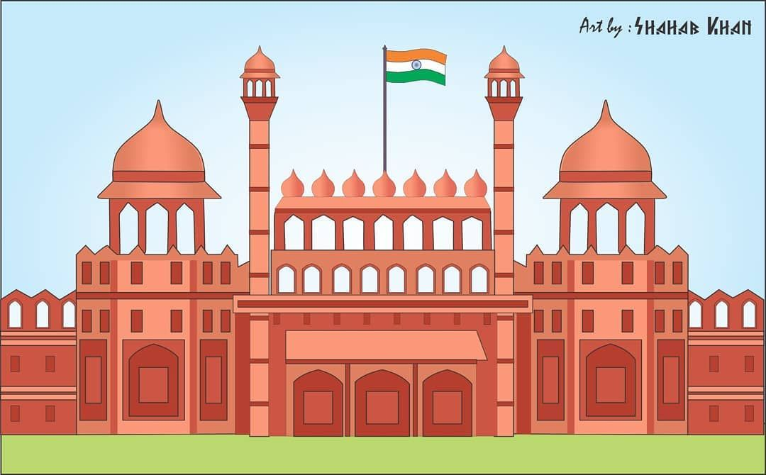 India Monument Sketch Win Your Dream City Break With I Escape