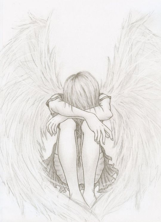 Kindness Is Never A Weakness Remember That Art Angel Drawing