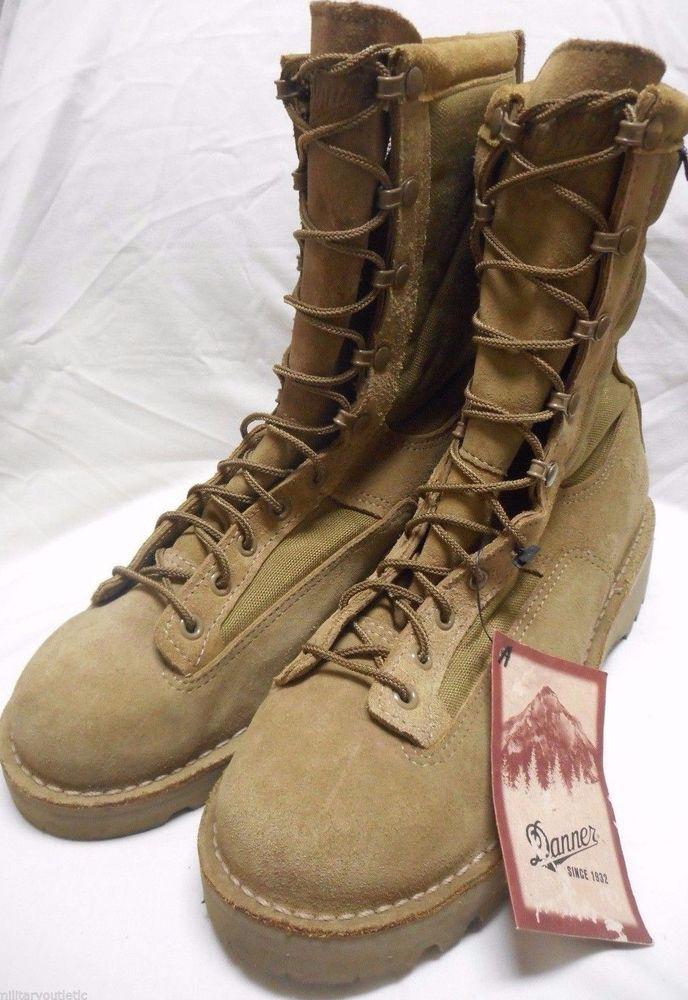 4e716ddc538 US ARMY MEN'S DANNER DESERT ACADIA MOJAVE 26000 BOOTS 11.5 D NWT ...
