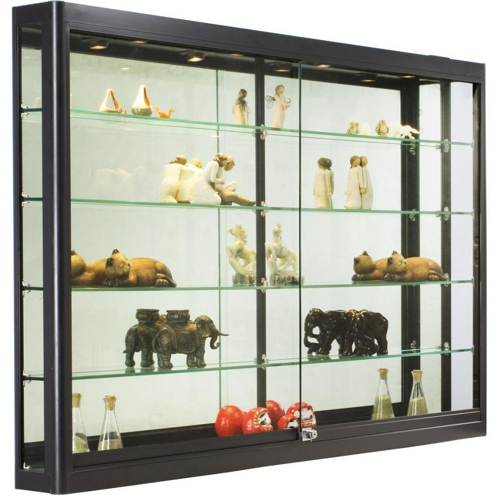 Showcase Wall Mounted Glass Display Case Cabinet Glass Cabinets