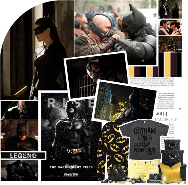 """""""'Batman: The Dark Knight Rises' (2012)"""" by twihard4ever18 ❤ liked on Polyvore"""