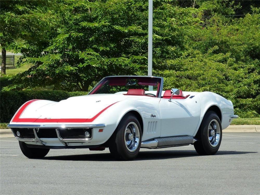 1969 CHEVROLET CORVETTE CONVERTIBLE- Barrett-Jackson Auction Company - World's Greatest Collector Car Auctions