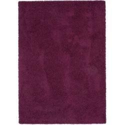 Photo of benuta Essentials Hochflor Shaggyteppich Swirls Lila 240×340 cm – Langflor Teppich für Wohnzimmer