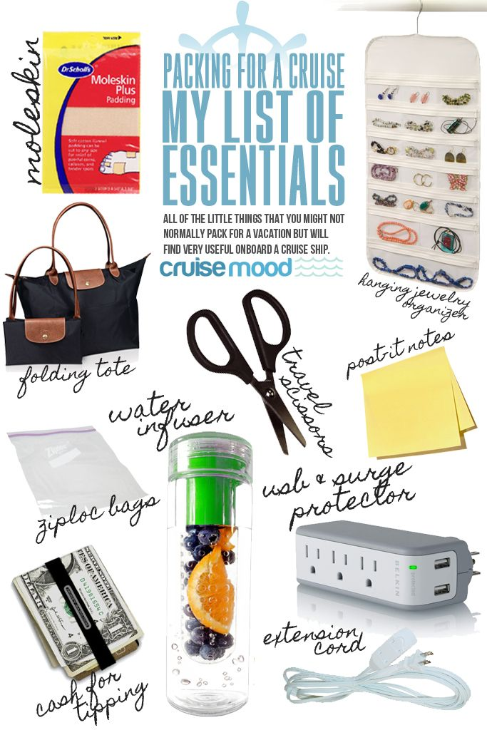 What To Pack For A Cruise My List Of Essentials Cruise Tips Amp Tricks Packing For A Cruise