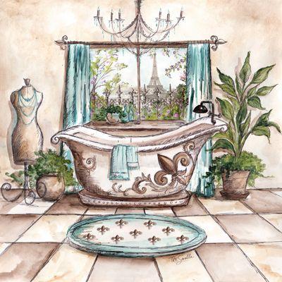 Tre Sorelle Studios: 'Paris Bath I'