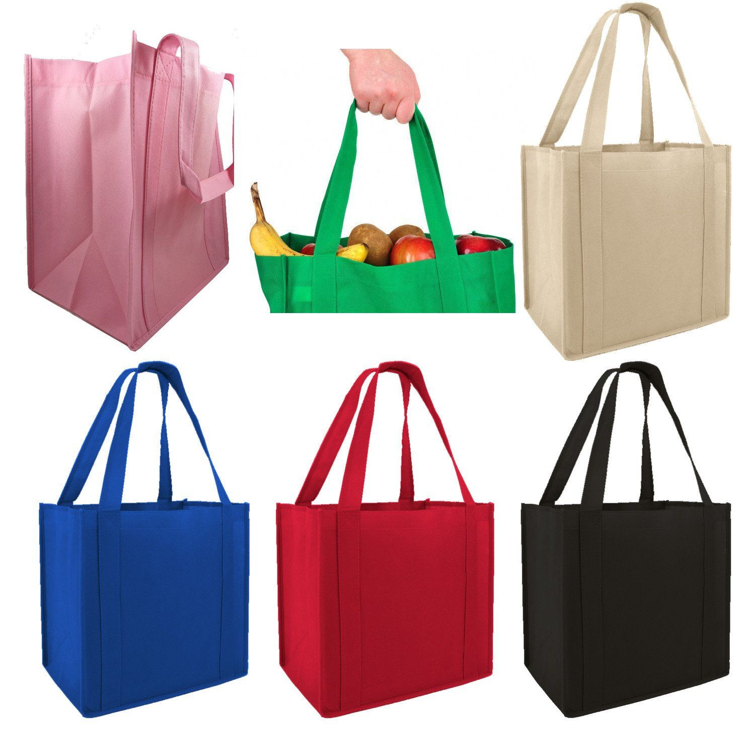 Wholesale Non Woven Polypropylene Tote Bags In Bulk Medium Non Woven Bags Woven Tote Bag Shopping Tote Bag