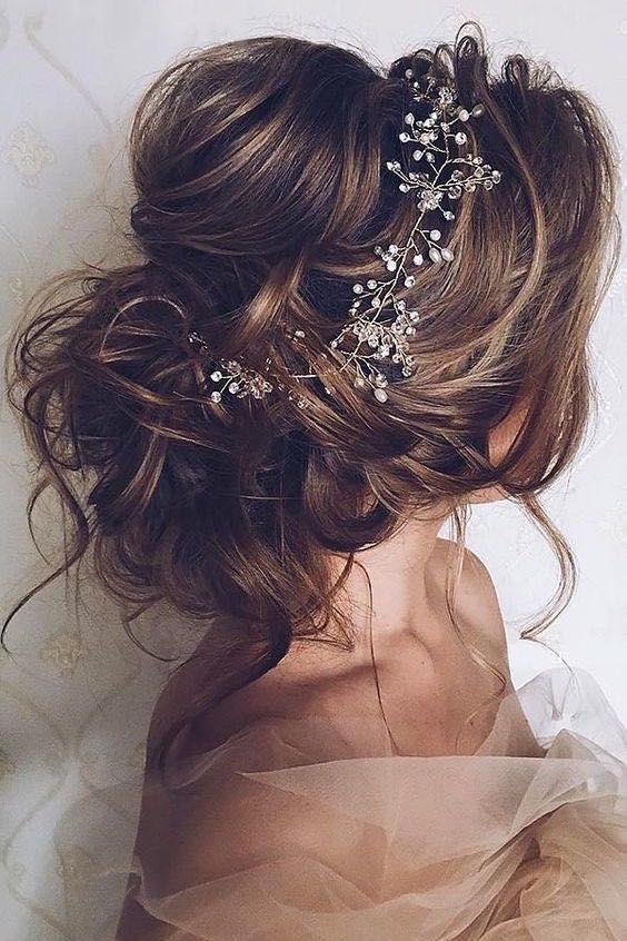 Peinados de novia despeinados