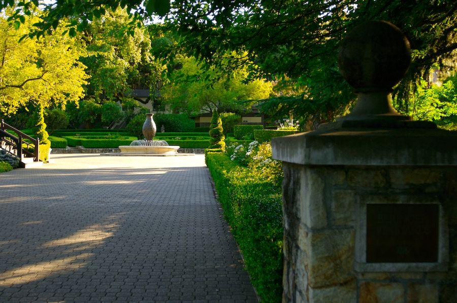 Beringer Vineyards Garden