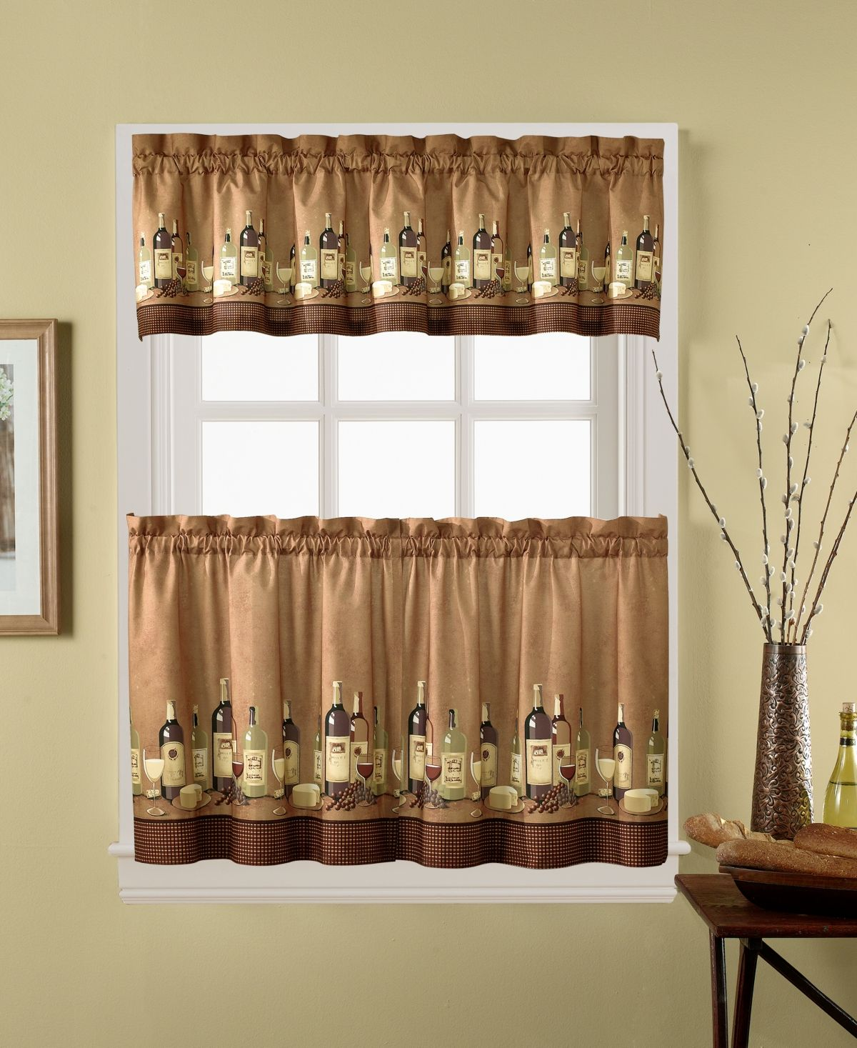 Chf Wines 36 Window Tier Valance Set Reviews Window