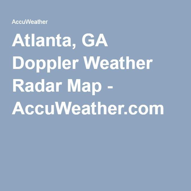 Atlanta GA Doppler Weather Radar Map AccuWeathercom WEATHER - Accuweather us radar map