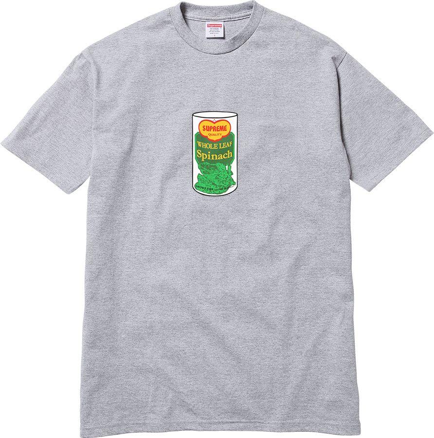 Spinach Tee Box logo tee, Supreme shirt, Tees