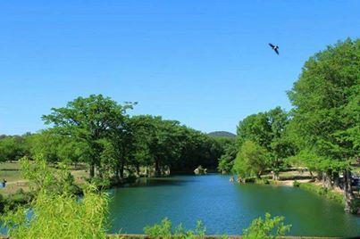 Bandera City Park, on the Medina River, 5-4-14. ♥ --CG ...