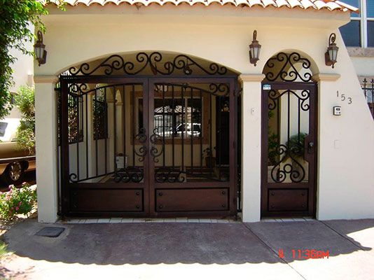 puertas de herreria catalogo - Buscar con Google | Ideas dream home ...