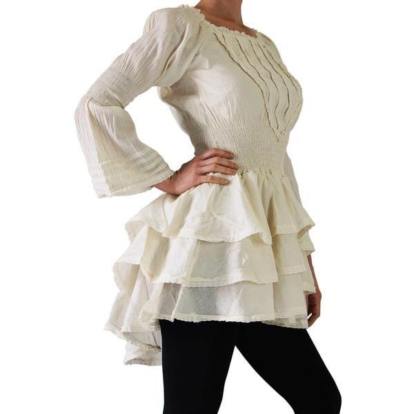 5d02009a033  Grace  Steampunk Dress - Cream Victorian Steampunk Dress