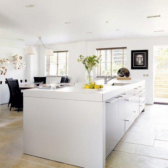 15 Cocinas Modernas con Gabinetes Color Blanco Cocinas pequeñas