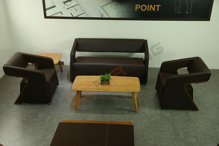 Bureau bench contemporain bulmin blanc en métal et bois et cuir