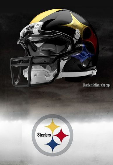 2851b225a This is the most bad ass steeler helmet ever!! It would be amazing to see  the steelers update their uniforms to this. There is a link here for the  rest of ...