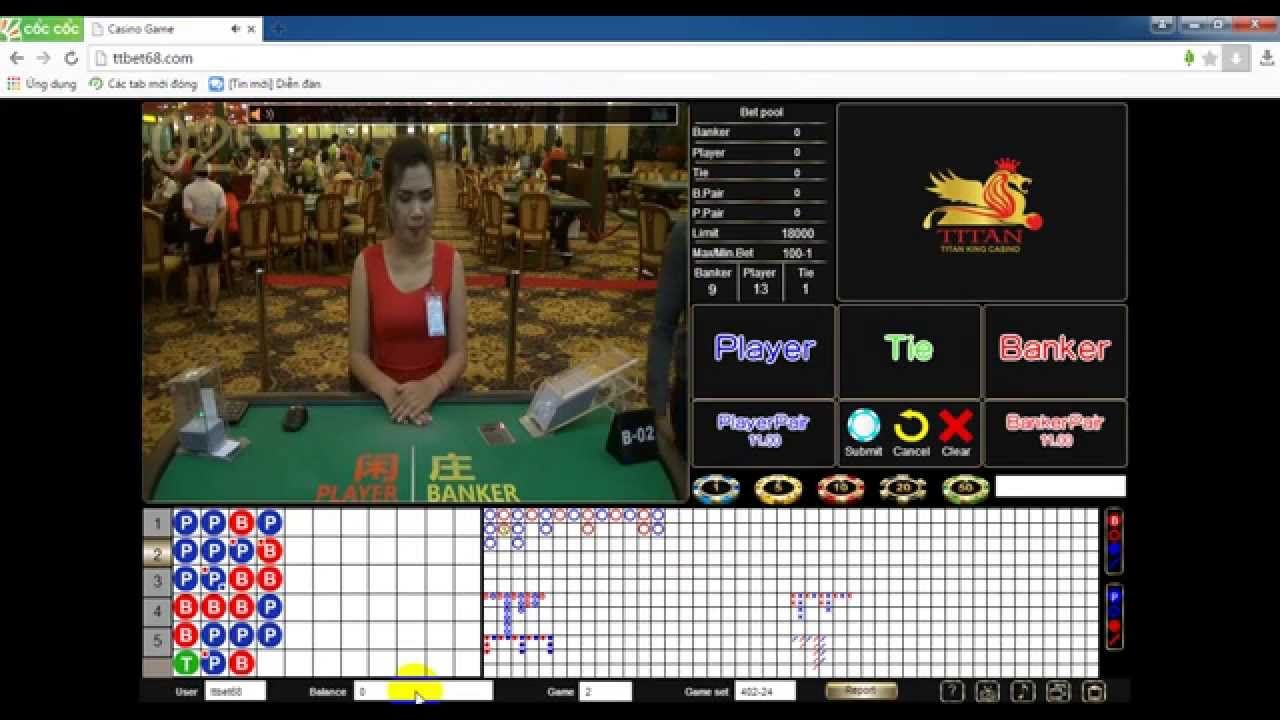 Baccarat Online with ttbet68