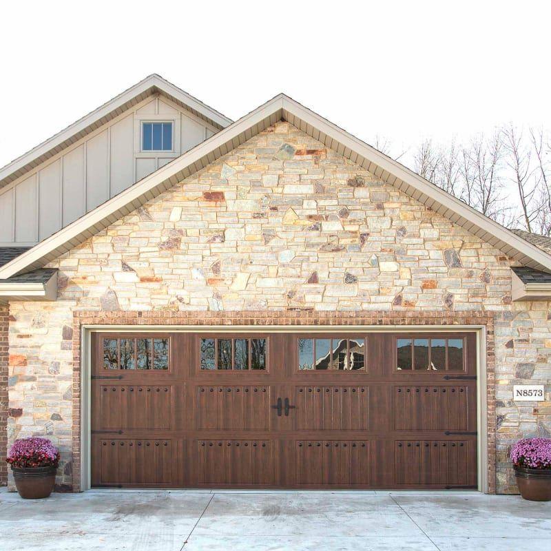 Acp 435 07 Black Magnetic Garage Door Hardware Set Of 8 In 2020 Garage Door Styles Garage Doors Garage Door Hardware