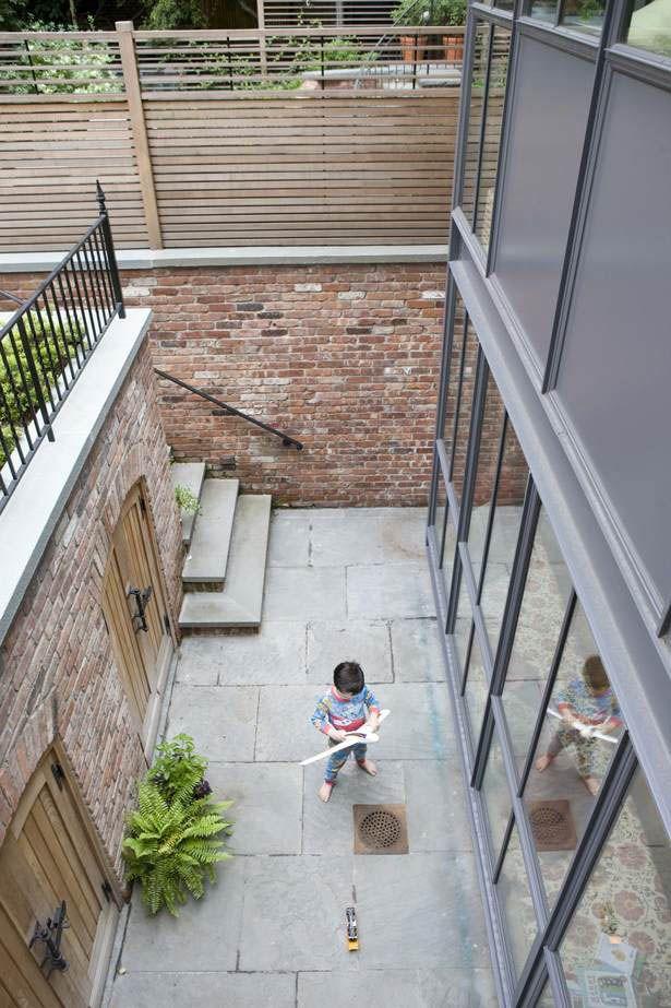 Basement Courtyard Tiny Gardens In 2019 Basement