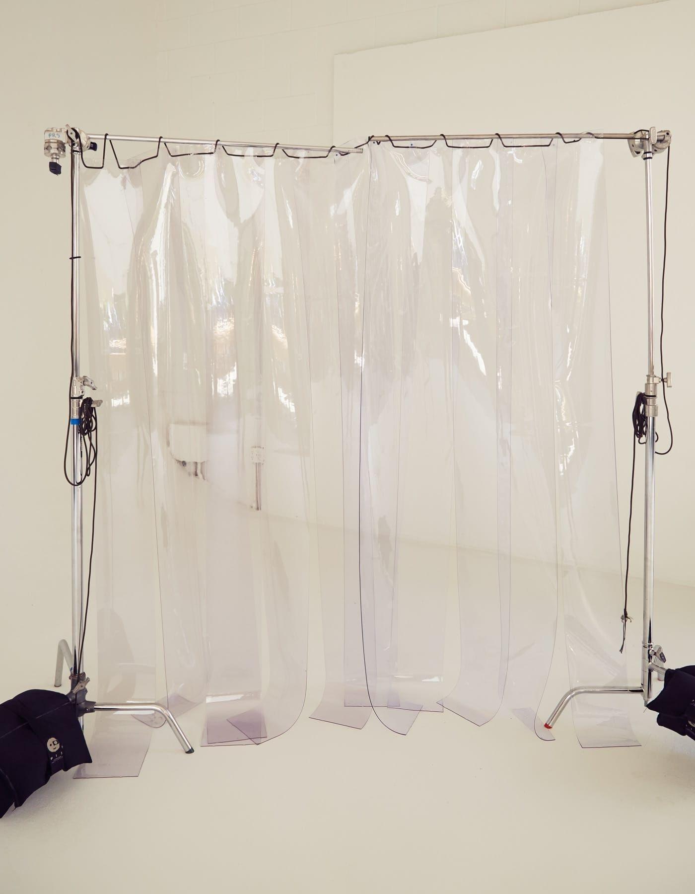 Plastic Curtain In 2020 Plastic Curtains Curtain Installation Stage Design