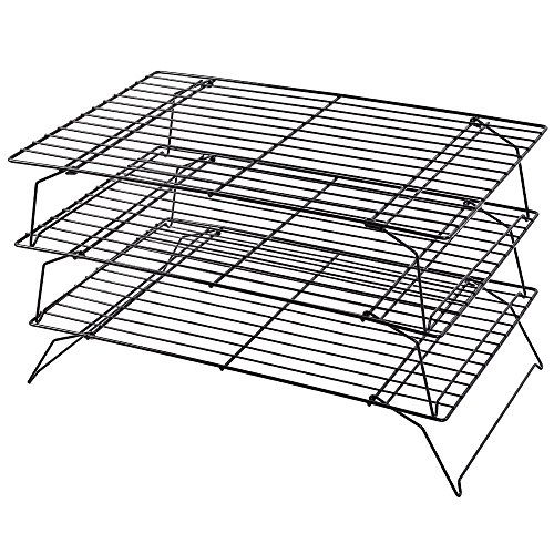 Kabalo Space Saving 3 Tier Stackable Baking Cooling Rack For Biscuitscakes Pastries This Is An Amazon Affiliate Link Cooling Racks Biscuit Cake Pastry Cake