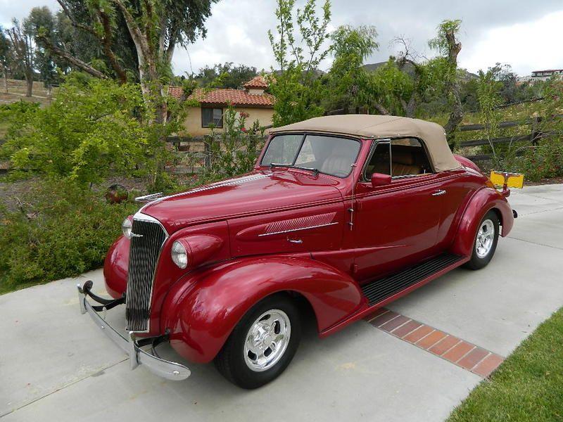1938 Chevrolet Cabriolet w/Rumble Seat for sale - Orange, CA ...