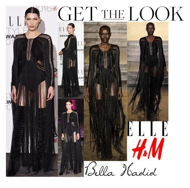Bella Hadid ELLE Style Awards February 23 2016