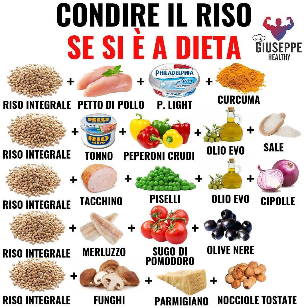 """Giuseppe Healthy on Instagram: """"👉 Il riso è una delle fonti di carboidrati preferite a dieta, a livello nutrizionale è molto simile alla pasta, ha qualche caloria in meno,…"""""""
