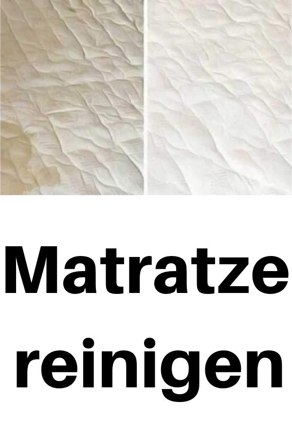 Matratze Reinigen Hausmittel Tipps In 2020 Matratze Hausmittel Hausstaubmilben