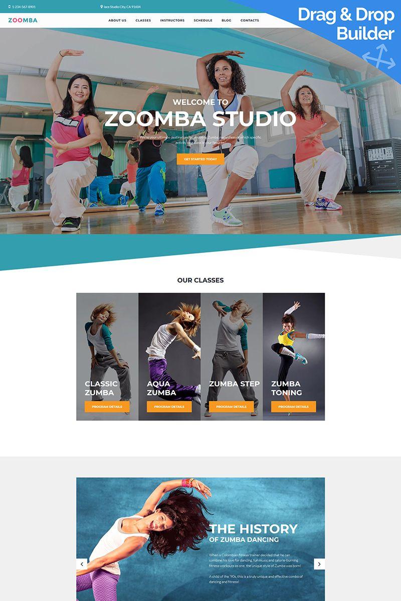 Blue Ballerina Dancer Business Cards (With