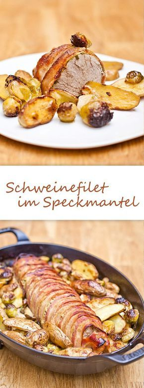 Schweinefilet im Speckmantel #grilledporksteaks