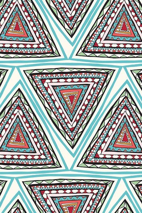 Prints patterns print pattern triangle fond d for Print ecran